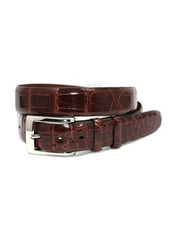 ZTR5047 Torino American Alligator Belt - Marcello Sport