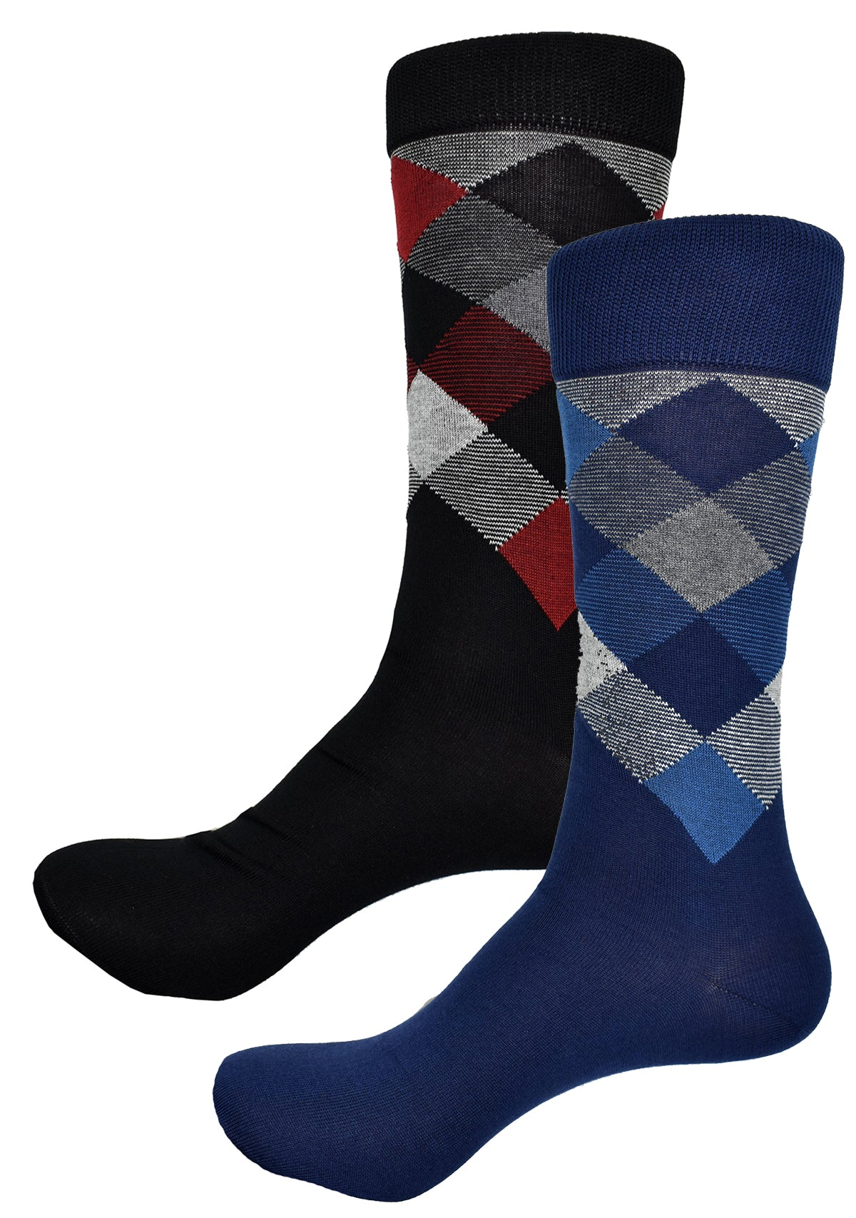 ZV1422 Argyle Sport - Navy or Black