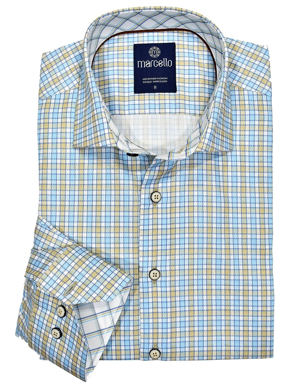 W1035 Buckhead Cotton Plaid - Marcello Sport