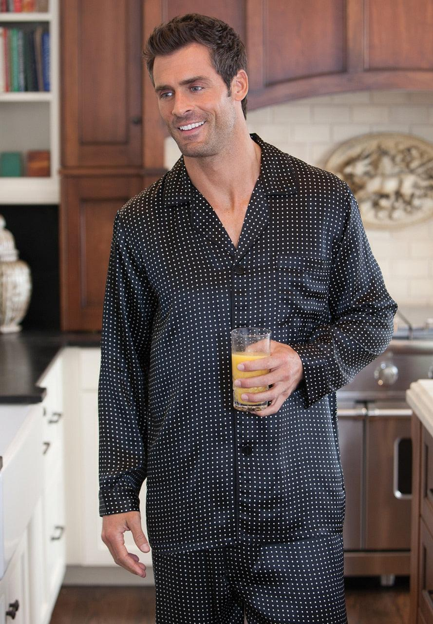 ZMJ3715 Arlington Silk Pajamas