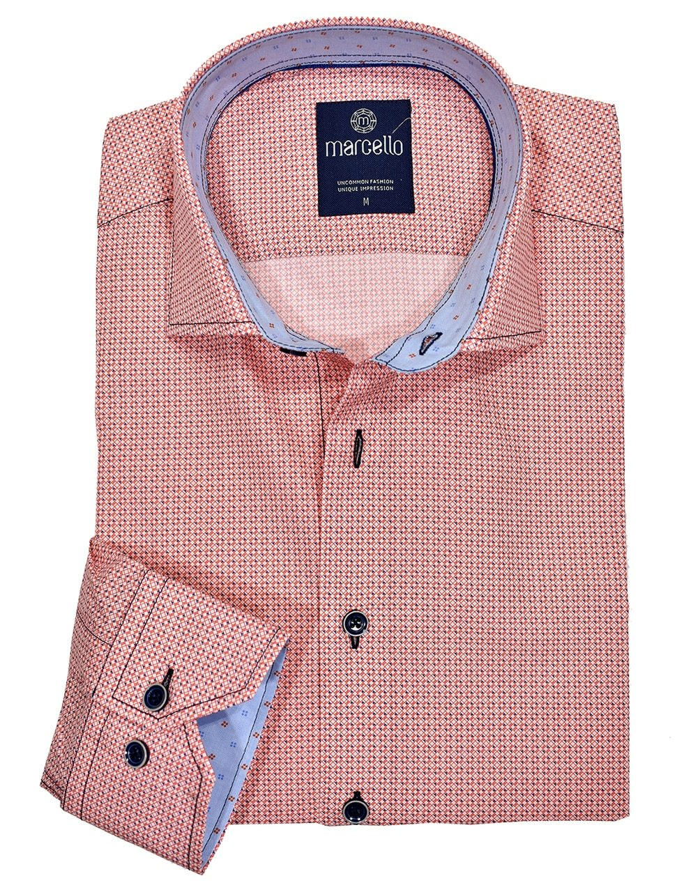 W1039 Ibiza Neat Cotton Shirt