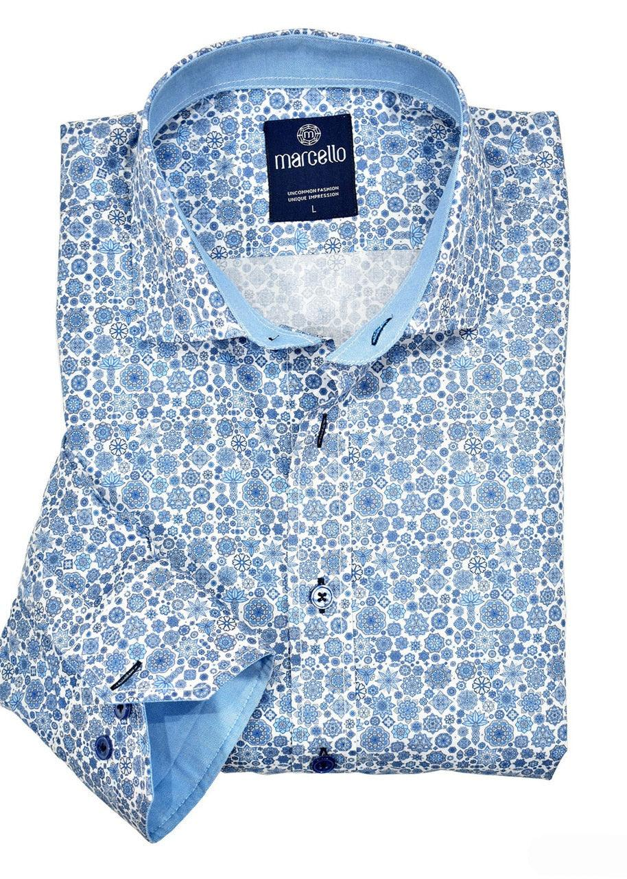 W908 Medallion Print Shirt