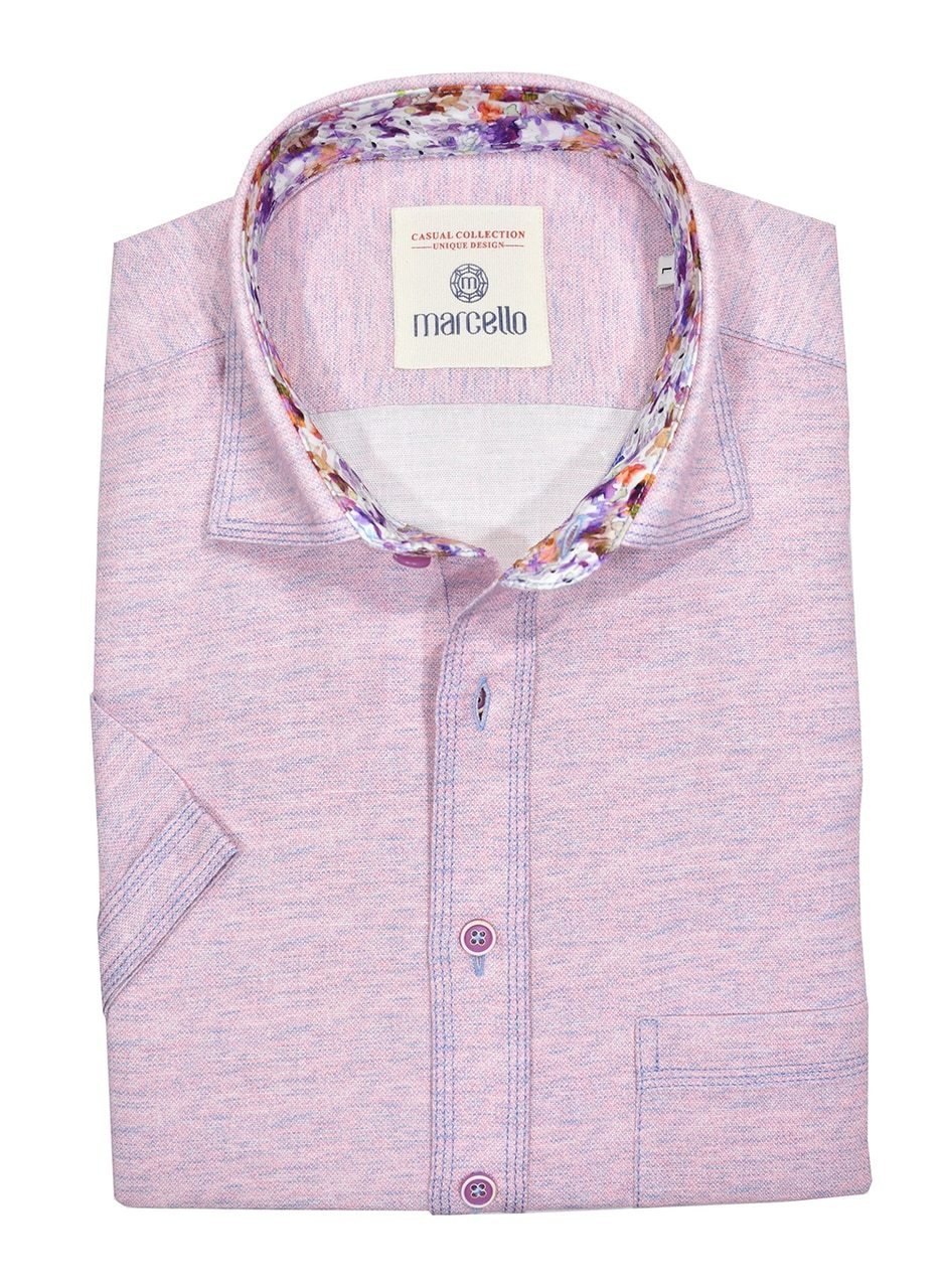 W1020S Short Sleeve Lilac Sport - Marcello Sport