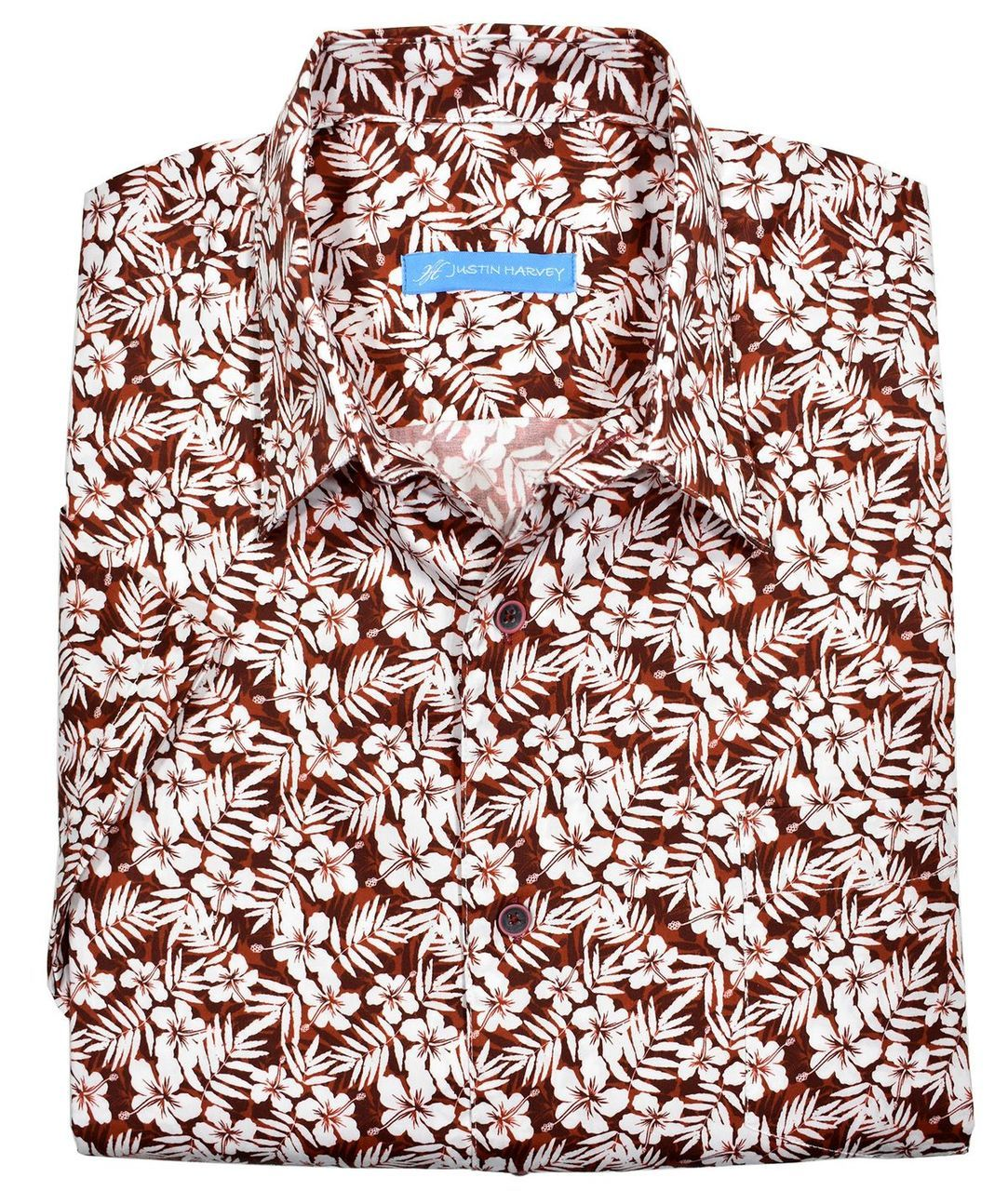 ZW132 Sunseeker Red Floral Shirt - Marcello Sport