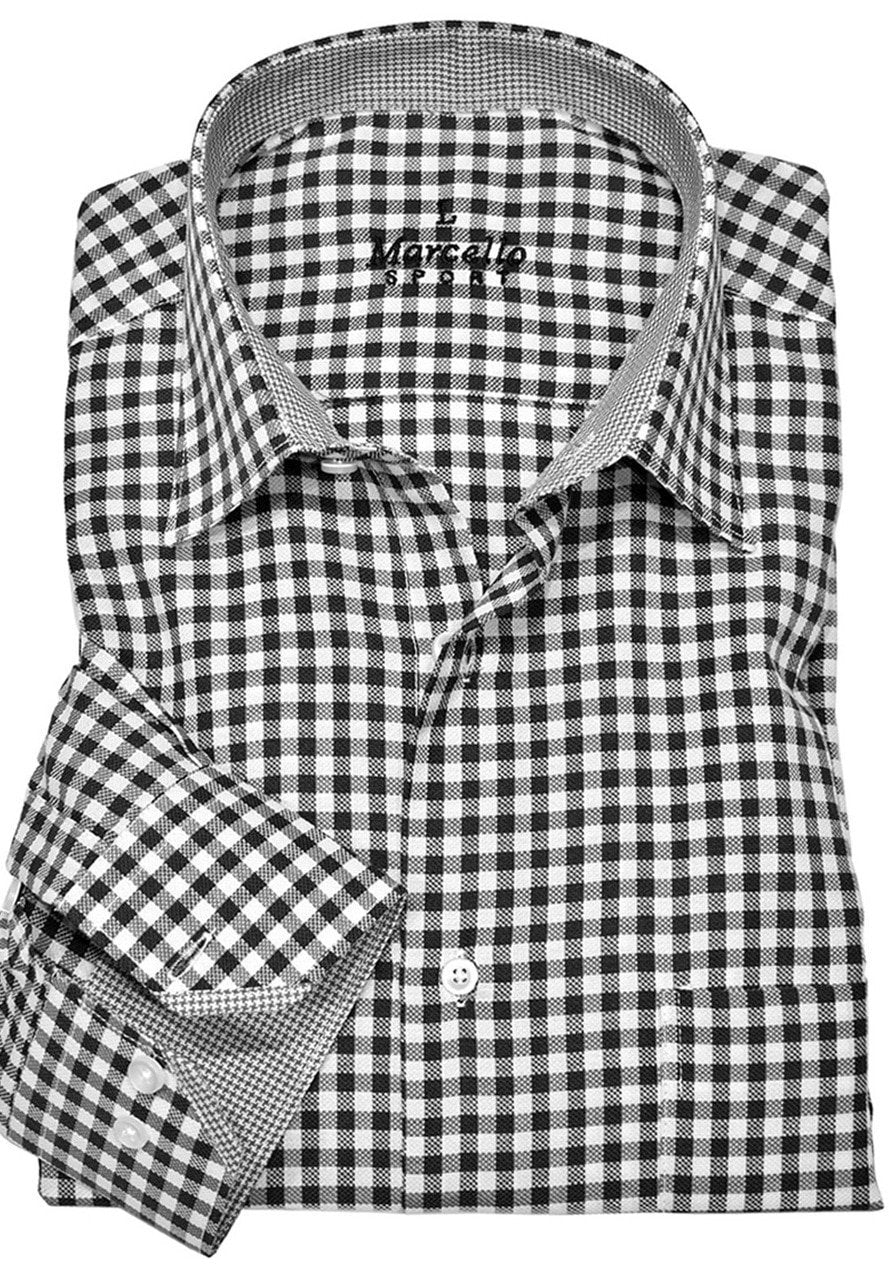WS01 Marcello Sport Classic Checked Men's Shirt