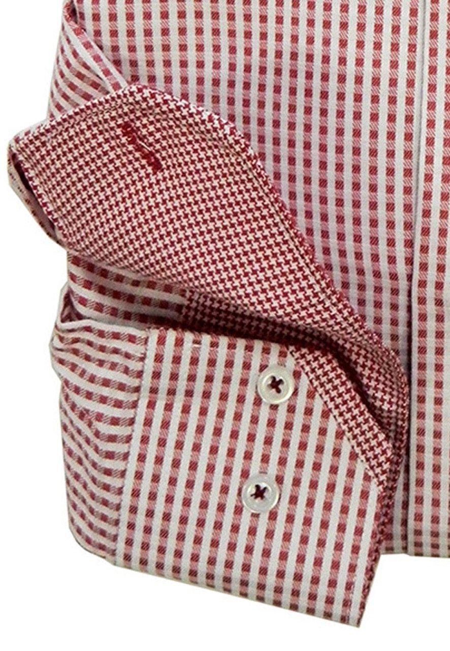 WS07 Marcello Sport Mens Mini Gingham Shirt  in 3 colors! - Marcello Sport