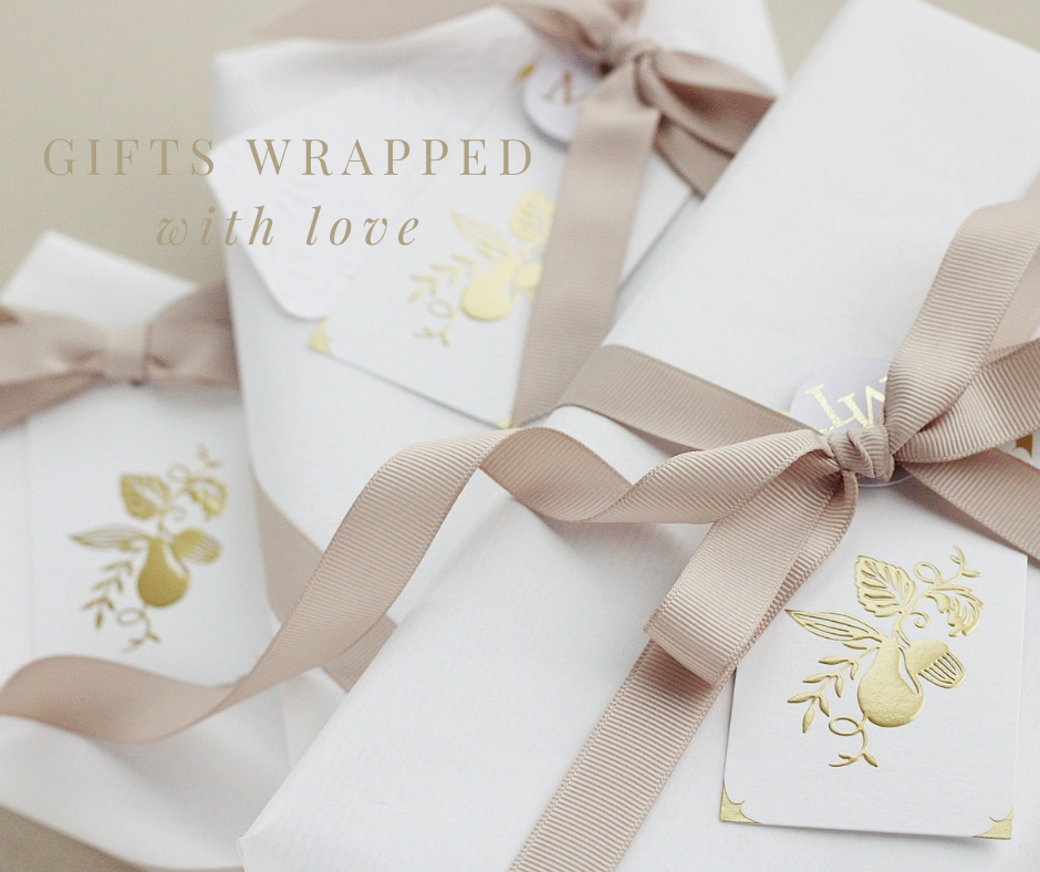 Giving gifts that create beautiful connections with the bride this Christmas