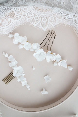 megan therese petite clay collection of bridal headpieces for the timeless bride