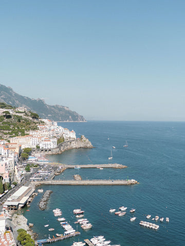 amalfi coast wedding views