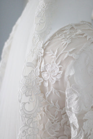 how to wash and store your wedding veil by megan therese