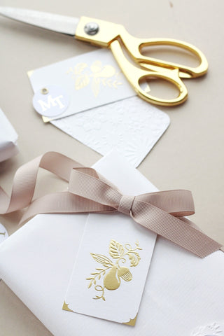 handwrapped gifts for the bride this christmas