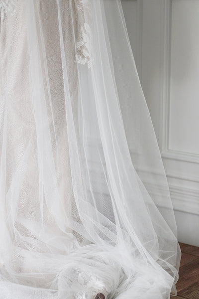 MUSE | statement 3d applique veil