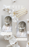PETITE AVERIE | clay floral comb