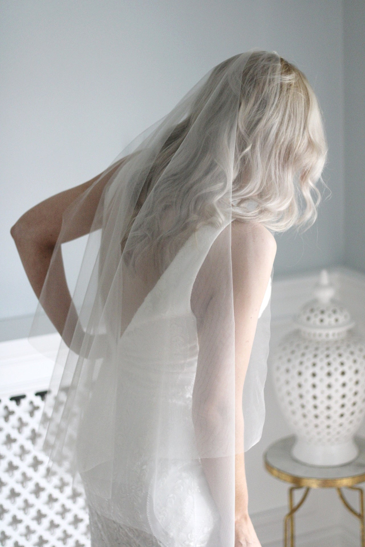 SIMPLICITY| one layered hip veil