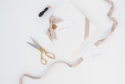 Megan therese couture luxury gift wrappi