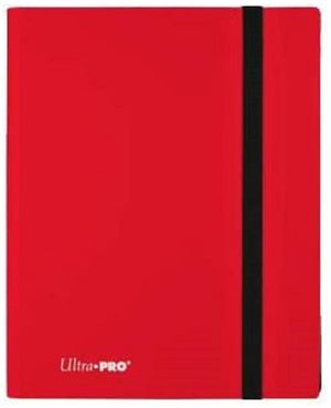 Ultra PRO 9-Pocket Eclipse Apple Red PRO-Binder