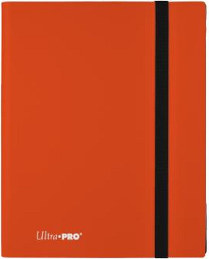 Ultra PRO 9-Pocket Eclipse Pumpkin Orange PRO-Binder