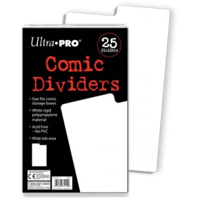 Ultra Pro Comic Dividers 25