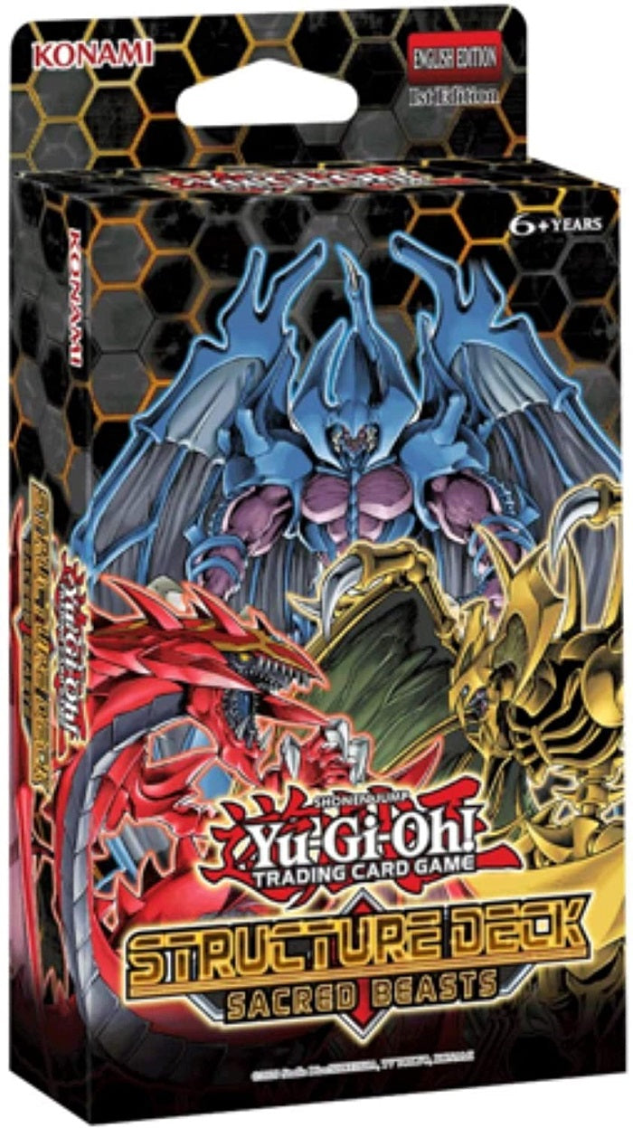 YuGiOh  Sacred Beasts Structure Deck