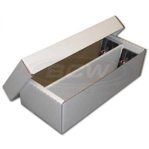 "1600 count CARDBOARD ""SHOE"" CARD BOX (Lot of 2)"