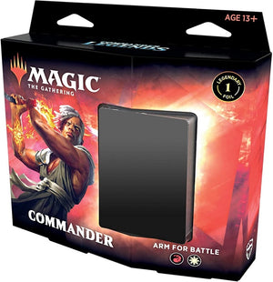 MTG Commander Legends  Commander Deck  Arm for Battle