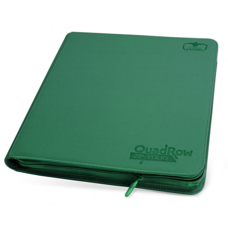 Ultimate Guard Quad Row Zipfolio Green