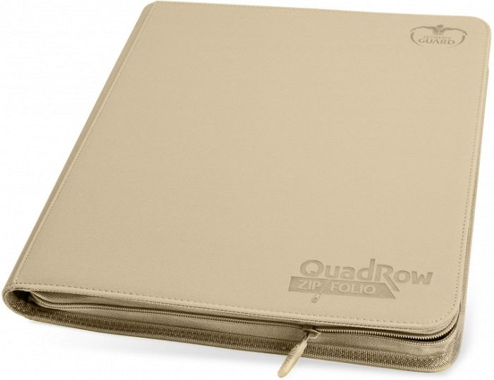 Ultimate Guard Quad Row Zipfolio SAND