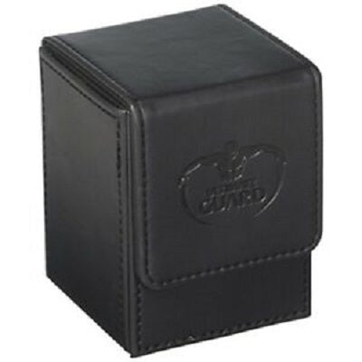 Flip Deck Case Leatherette Black 100+