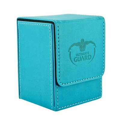 Flip Deck Case Leatherette Blue 100+