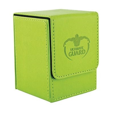 Flip Deck Case Leatherette Green 100+