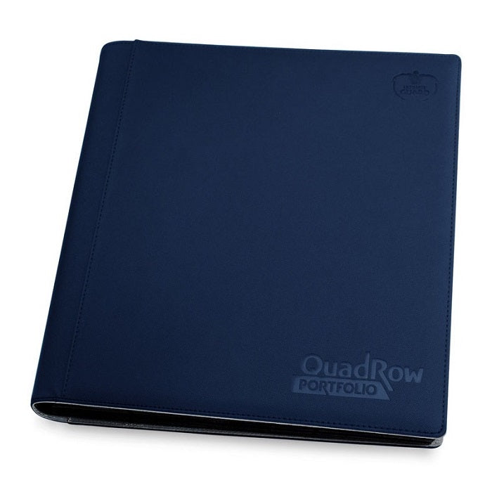 Ultimate Guard Quad Row Portfolio Blue