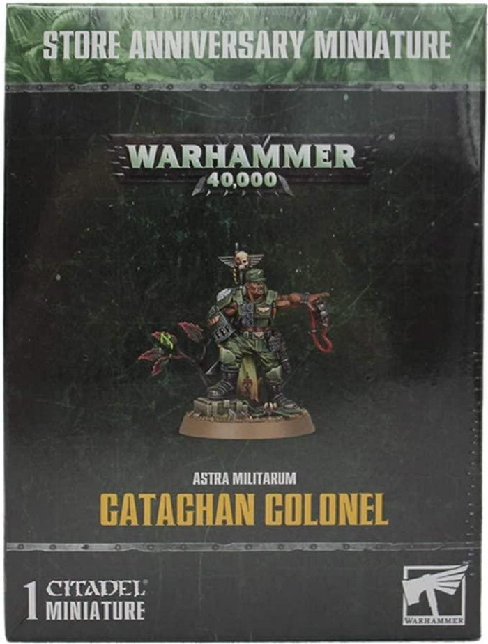 Astra Militarum  Catachan Colonel Store Anniversary Miniature