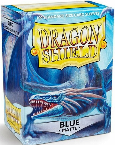 Dragon Shield Matte Blue Sleeves 100 | Game Master's Emporium (The New GME)