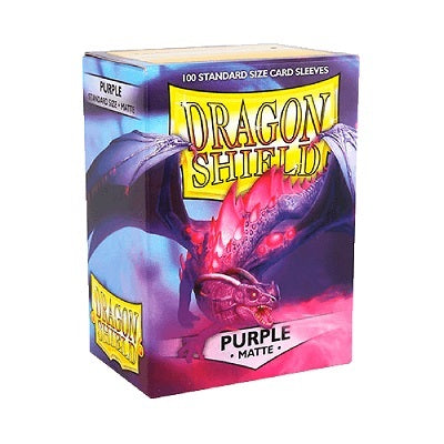 Dragon Shield Matte Purple Sleeves 100 | Game Master's Emporium (The New GME)