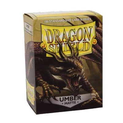 Dragon Shield Matte Umber Sleeves 100