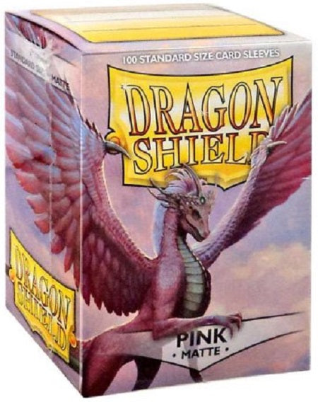 Dragon Shield Matte Pink Sleeves 100