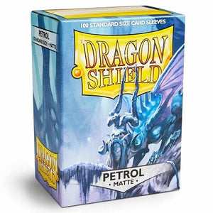 Dragon Shield Matte Petrol Sleeves 100
