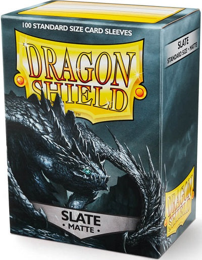 Dragon Shield Matte Slate Sleeves 100