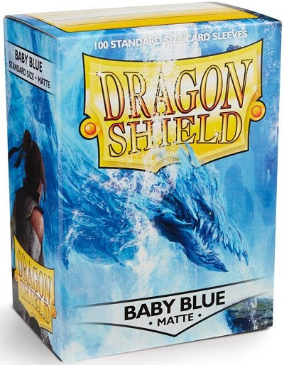 Dragon Shield Matte Baby Blue Sleeves 100