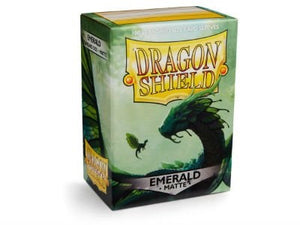 Dragon Shield Matte Emerald Sleeves 100