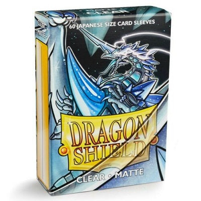 Dragon Shield Matte Clear Sleeves Japanese Sized 60