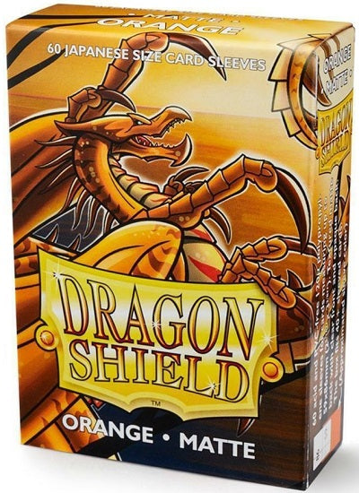 Dragon Shield Matte Orange Sleeves Japanese Sized 60 | Game Master's Emporium (The New GME)