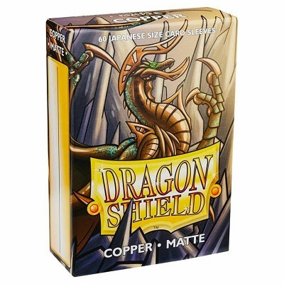 Dragon Shield Matte Copper Sleeves Japanese Sized 60