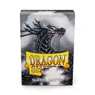 Dragon Shield Matte Slate Sleeves Japanese Sized 60