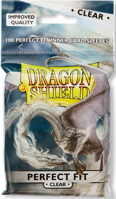 Dragon Shield Perfect Fit Clear Card Sleeves 100