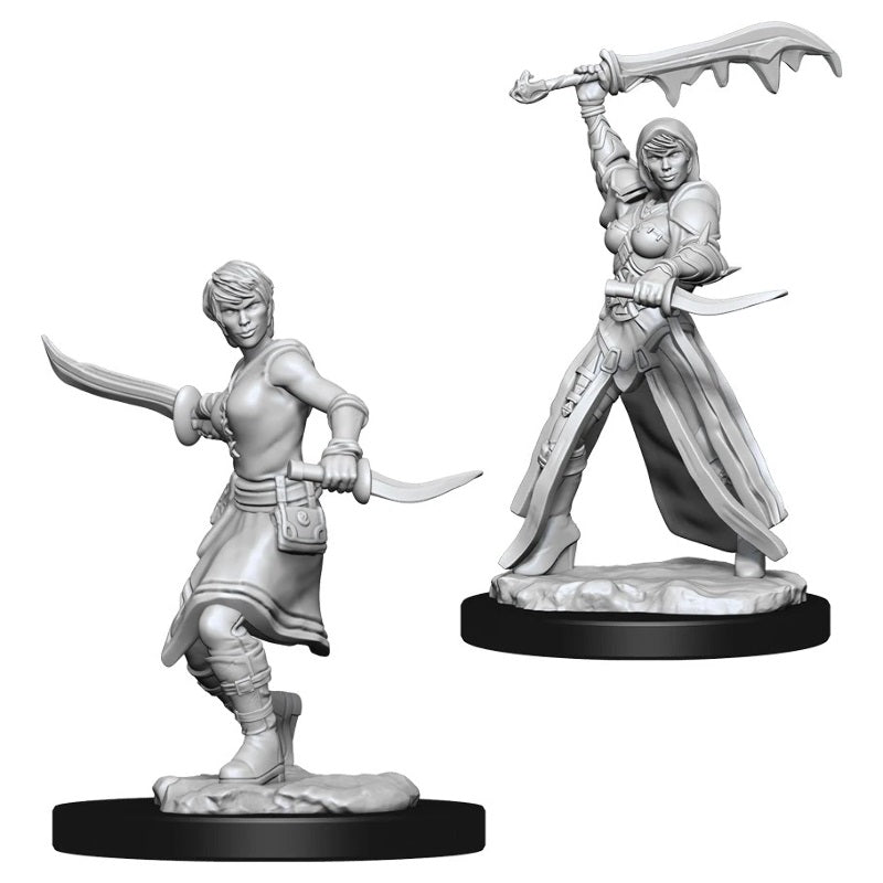 D&D Mini Female Rogue