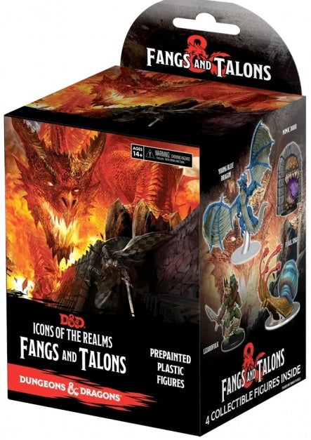 D&D Mini Fangs and Talons Booster