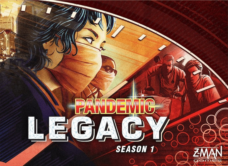 Pandemic Legacy  Season 1 (Red) | Game Master's Emporium (The New GME)