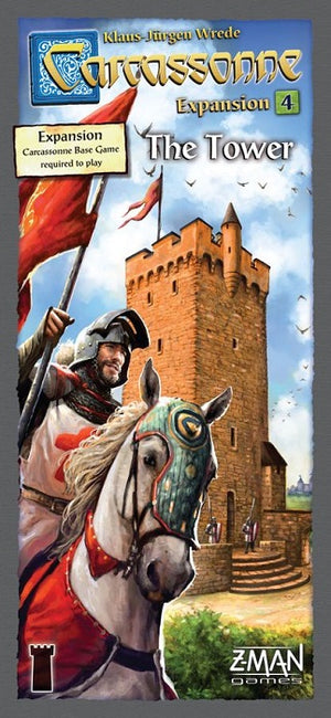 Carcassonne  The Tower (Expansion #4)
