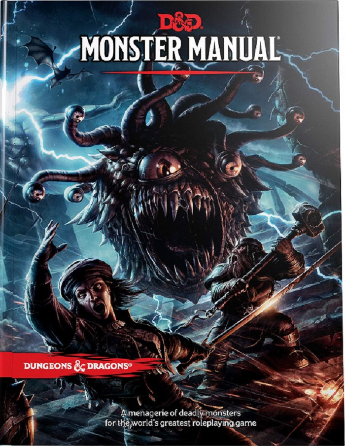 D&D Dungeons & Dragons Monster Manual (Core Rulebook) | Game Master's Emporium (The New GME)